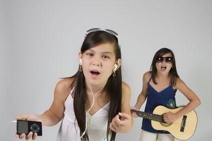 zpěv dívek