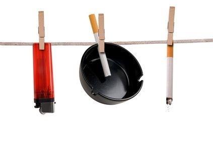Kuřácké potřeby na šňůře