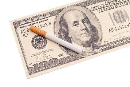 Cigareta na dolaru
