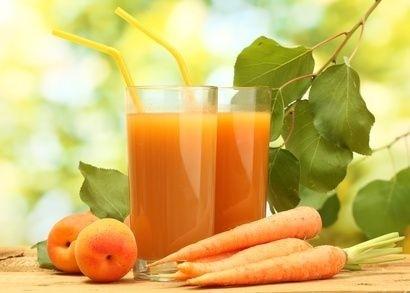 mrkvový džus