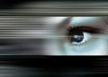 oko, zrak, mžitky, rychlost