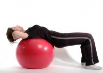 gymnastický míč overball