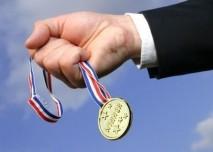 Medaile, vítěz, rekord