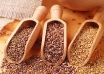 lněná a sezamová semínka