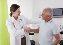 lékařka s pacientem