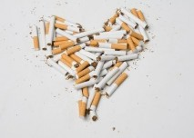 Srdce z cigaret