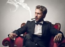 kuřák doutníků