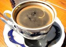 káva, hrneček, pití