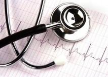 Fonendoskop a EKG
