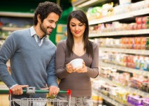 nákupy potravin