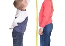 Děti, metr, měření výšky, růst