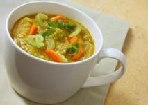 Polévka, jídlo, zelenina,