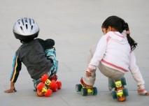 Sport,kolečkové bruste,děti