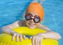 Dítě,plavání,bazén,sport