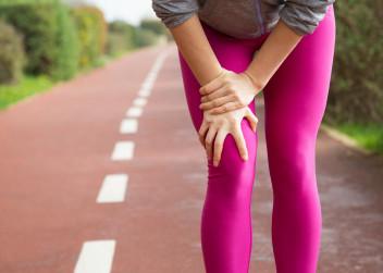 nohy, kolena, bolest
