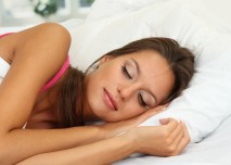 spící žena