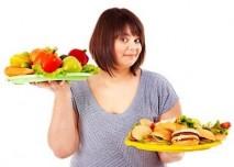 zdravé vs. nezdravé jídlo