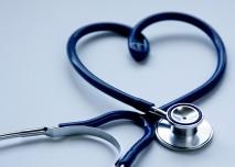 srdce z fonendoskopu