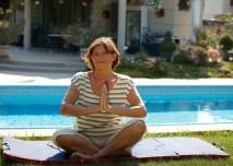 Žena,senior,důchodce,stáří,cvičení- z HPV