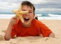 Díět u moře