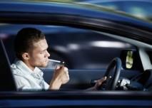 Kouření za volantem