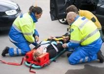 poranění páteře při autonehodě