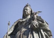 Socha královny Viktorie