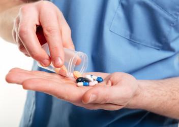 léky, doktor, stetoskop