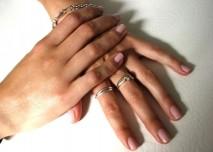 ruce, naramek, prsten, nehty