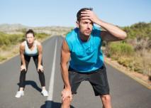 běžci jsou unavení