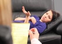 žena u psycholožky