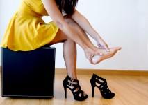 bolest nohou z vysokých podpatků