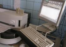 laboratoř, biochemie, mikroskop, centrifuga
