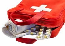 lékárnička s první pomocí