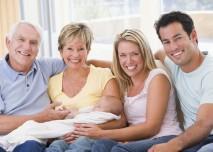 čeství rodiče s prarodiči