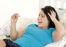 Radost z otěhotnění