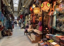 istanbul, turecko, trh, market