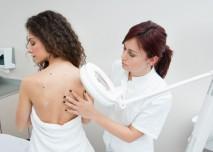 kontrola u kožního lékaře