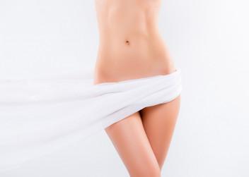 intimní partie, nahá, žena
