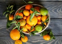 citron, pomeranc, ovoce, citrusy