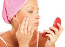 žena,zrcadlo,vrásky,kůže,pokožka