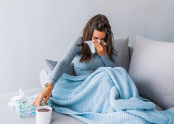 nachlazení, rýma, chřipka