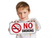 Dítě bojující proti kouření