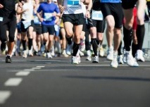 hromadný běh,maraton