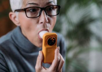 spirometr, dýchání