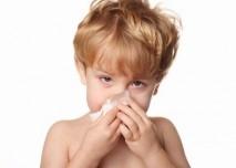 Dítě s rýmou