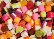 bonbóny, cukr, sladkosti, sladké, cukrovka, diabetes, barvy