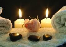 svíčky, intimita, relaxace, večer, romantika