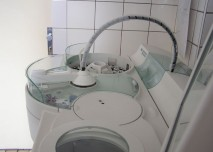centrifuga,zkumavka, krev, laboratoř