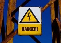 nebezpečí vysokého napětí